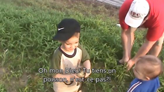 Ce gamin détestera la pêche pour toute sa vie !