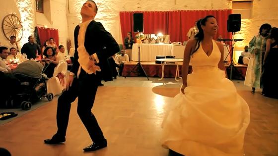 Mariage original : Incroyable première danse