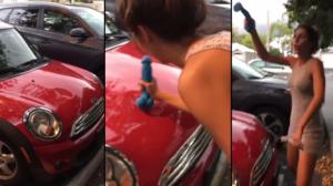Elle répare sa voiture avec un godemichet !