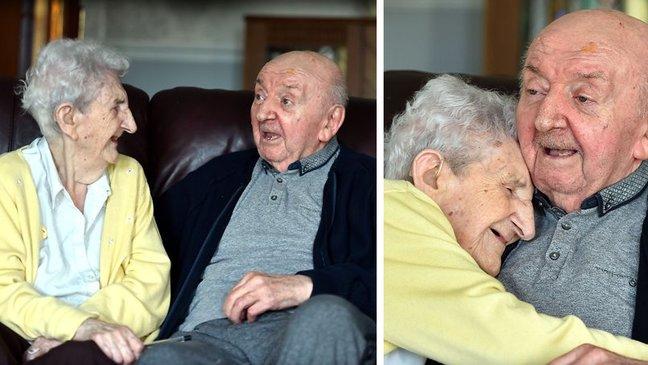 À 98 ans elle emménage dans une maison de retraite pour s'occuper de son fils de 80 ans