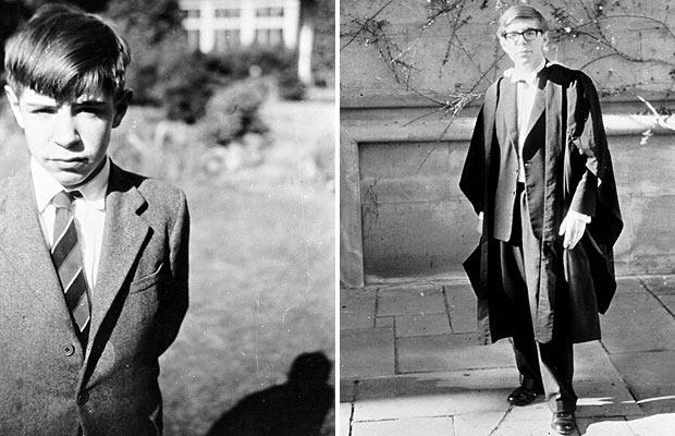 Stephen Hawking 17 ans