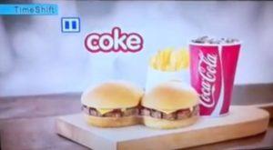 Mauvais timing pour une publicite des burgers hungry jacks