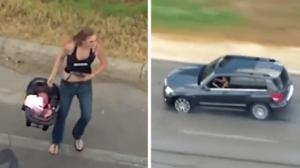 Elle roule à 160 km/h pour échapper à la police avec un bébé à bord