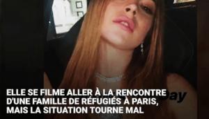 Lindsay Lohan tente de voler un enfant SDF dans Paris