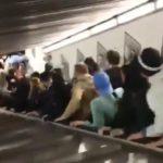 Un accident d'escalator fait plusieurs blessés