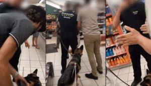 Un malvoyant et son chien guide se font virer d'un Monoprix à Marseille