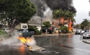 Un petit avion de tourisme se crashe sur une maison et fait 5 morts !