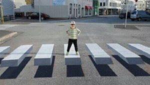 Ce passage pour piétons en 3D est l'avenir de la sécurité routière