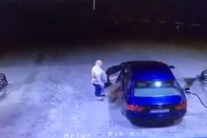 Un chauffeur a oublié de sortir le pistolet du réservoir et a fait un incendie