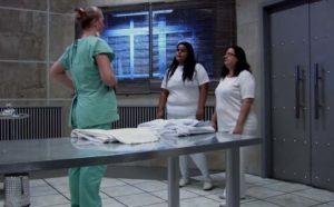 Elles se font piéger dans une morgue d'hôpital