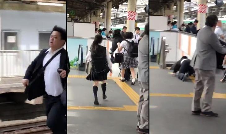 Des écolières victimes d'attouchements inappropriées dans un train poursuivent leur agresseur