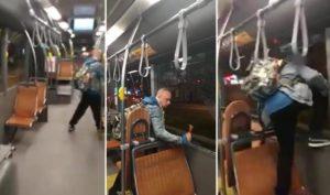 Il utilise un marteau brise-vitre pour s'échapper d'un bus en Belgique