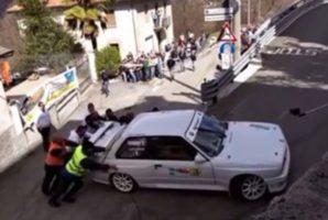 Tous les pilotes se font piéger dans un virage sauf celui d'une Renault 5 !