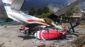 Un avion s'est écrasé dans un hélicoptère en décollant, faisant trois morts