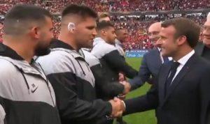 Un rugbyman sud-africain demande la nationalité française à Macron