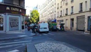 Circulation de 2 roues sur les trottoirs à Paris