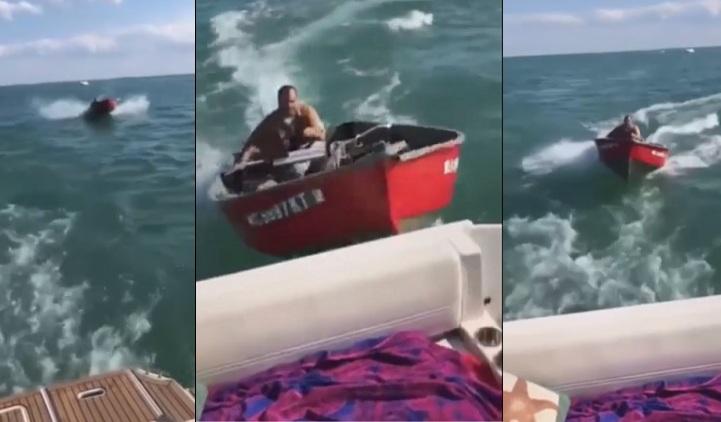 Un homme ivre en colère enfonce son bateau volontairement dans un autre