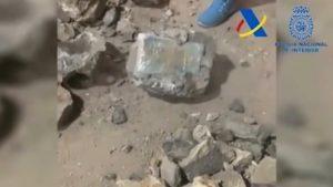 La police espagnole a saisi 1 tonne de cocaïne cachée dans des pierres