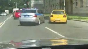 Un policier provoque un accident en voulant arrêter un automobiliste