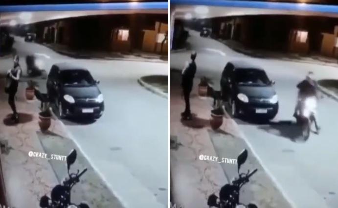 Il tente de braquer un passant mais ce n'était pas la bonne victime