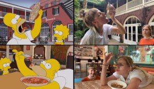 Deux filles suissesses se sont rendues à la Nouvelle-Orléans juste comme Homer Simpson