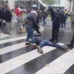 Un gilet Jaune simule une chute dont le but d'accuser la police