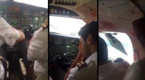 Un oiseau explose le pare-brise d'un avion et provoque un atterrissage d'urgence