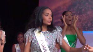 La réaction étrange de Miss Nigeria à l'annonce du résultat de Miss Monde 2019