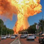 Une énorme explosion dans une station-service en Russie
