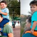 Une promenade sur les épaules? Ceci est le meilleur moyen pour transporter son enfant en toute sécurité