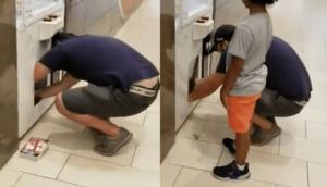 Un père envoie son fils voler une Nintendo Switch dans une machine à sous