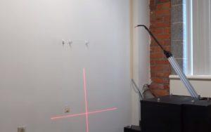 Le robot peintre est prêt à travailler sur les chantiers