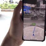 Google Maps en direct, des itinéraires en réalité augmentée