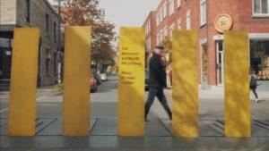 Les québécois forcent les automobilistes à respecter les passages pour piétons