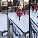 La patinoire synthétique la plus mauvaise au monde