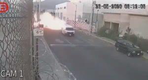 Une fuite de gaz surpris les usagers d'une route