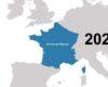 Les changements dans les frontières de la France de 481 à 2020