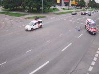 Intervention rapide ambulance cycliste ivre